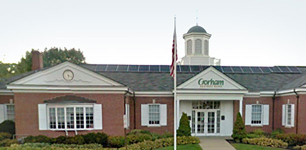 Gorham Savings Bank location outside building