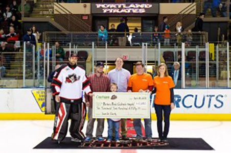 """Saves for Charity"" – A special evening at the Portland Pirates"