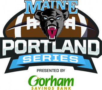 UMaine Football Portland Series Logo FINAL