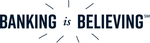 Banking is Believing logo