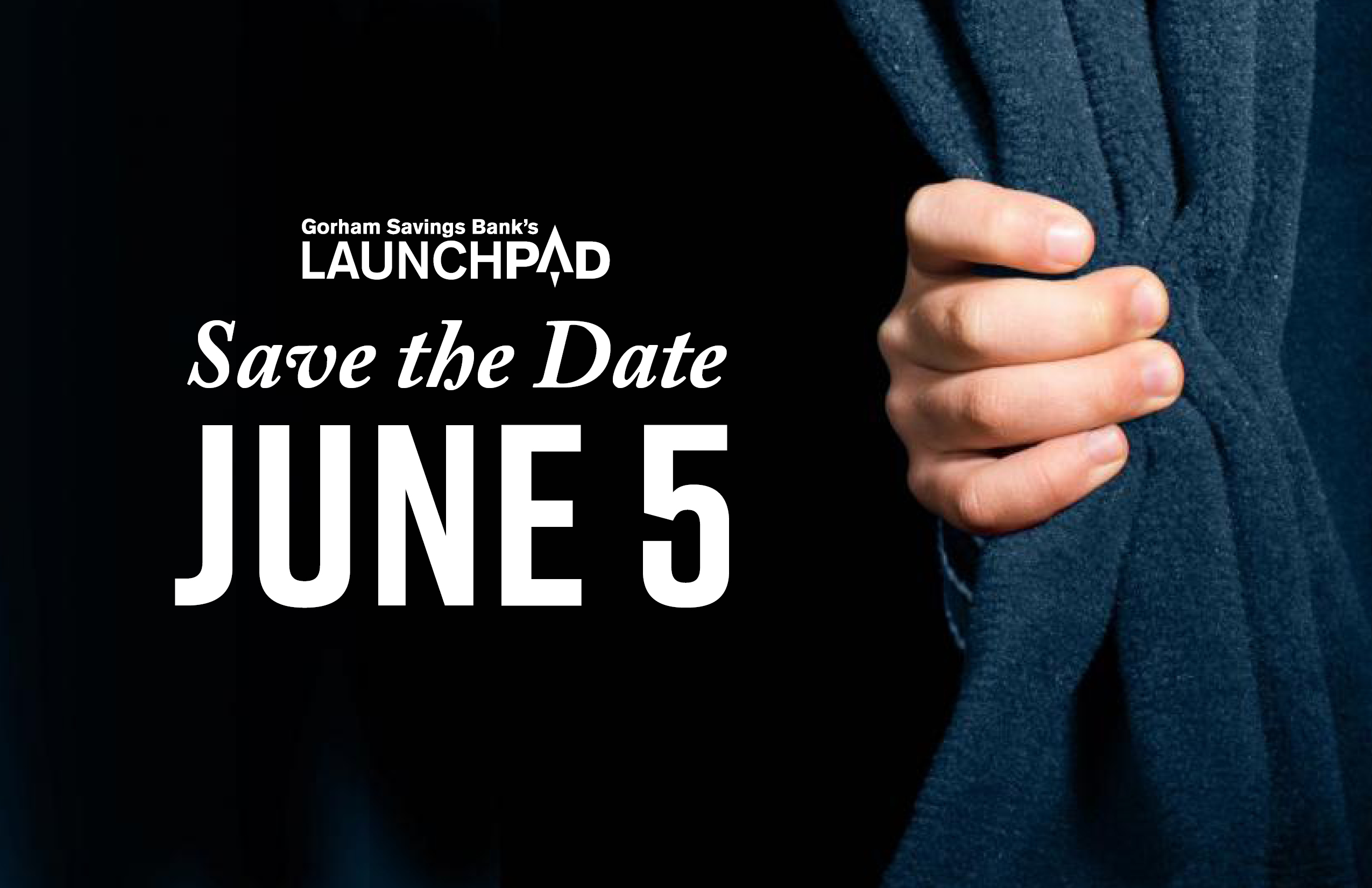 LaunchPad 2018 Save the Date June 5 advertisement