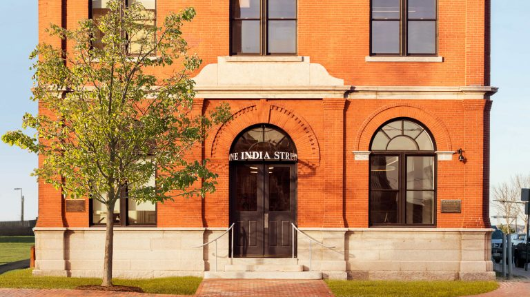 Gorham Savings Bank India Street Front of Building