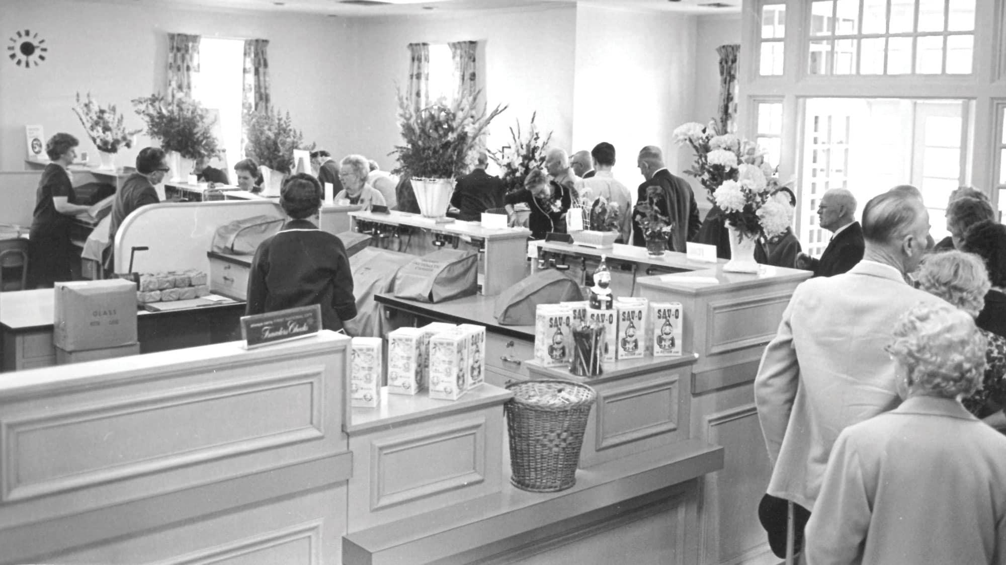 Gorham Savings Bank Main Street 1959