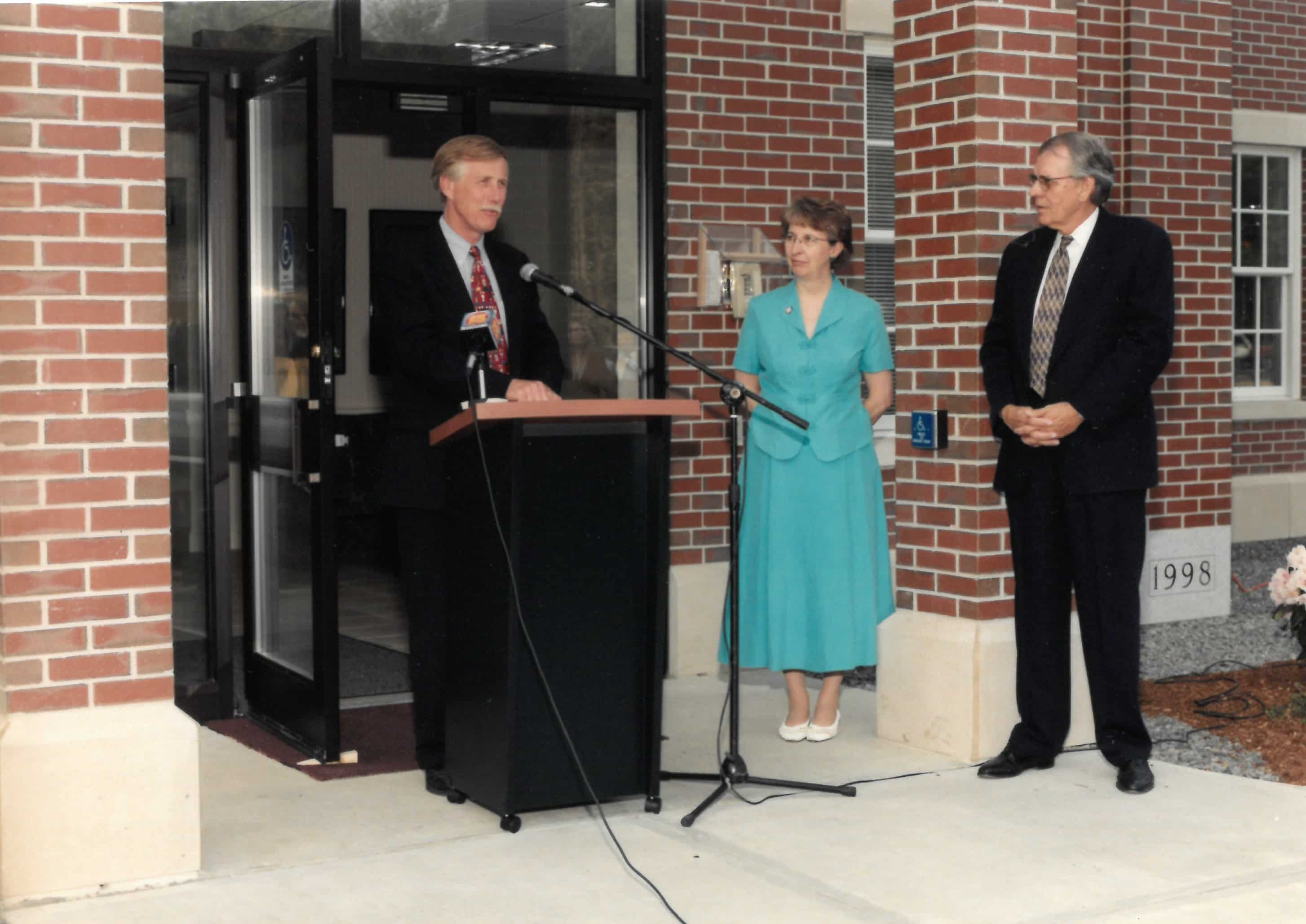 Gorham Savings Bank 1998 Operations Center Groundbreaking