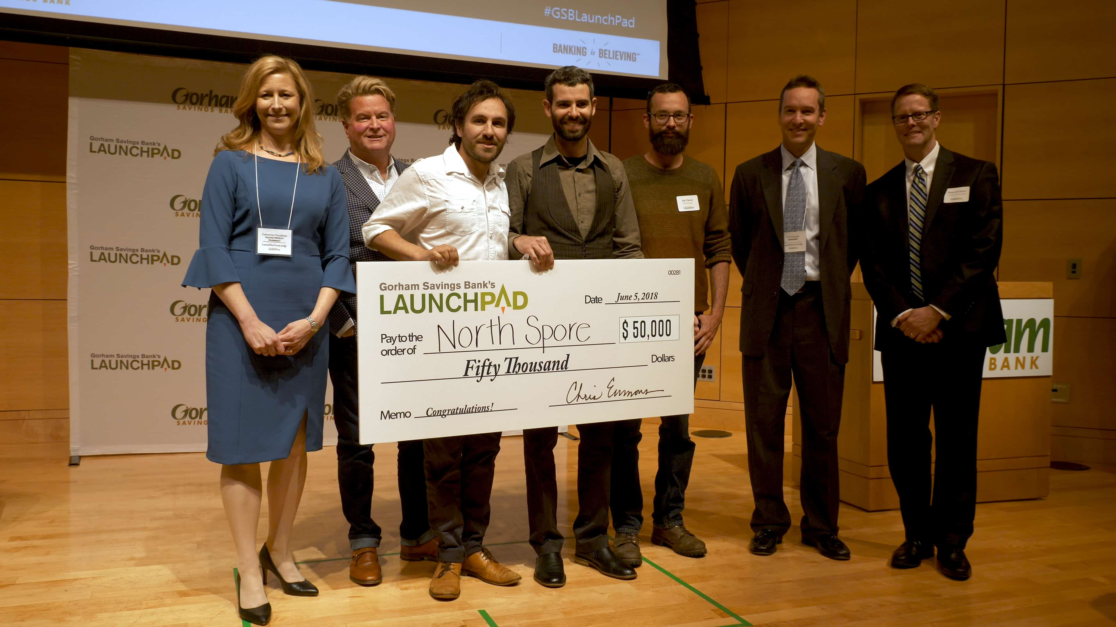NorthSpre LaunchPad Winner 2018