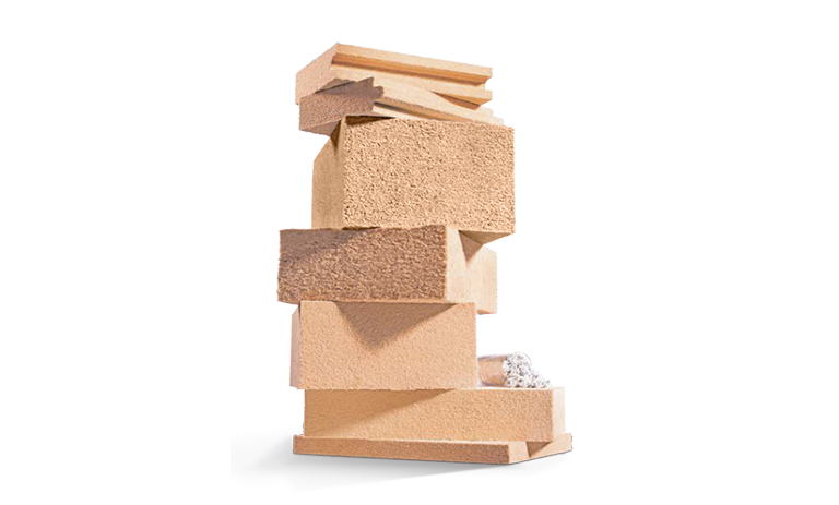 wood insulation stack GO Lab