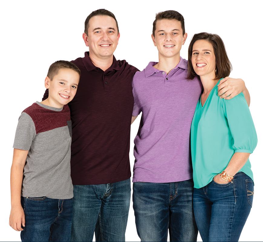 Photo of Happy GSB Customer Family