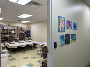 Gorham Arts Alliance Clay Room at GSB's Operation Center