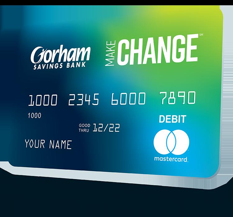 Photo of Make Change Debit Card