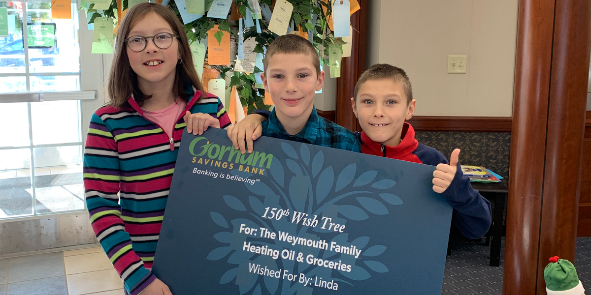 Wish Tree Program – November Wishes Granted